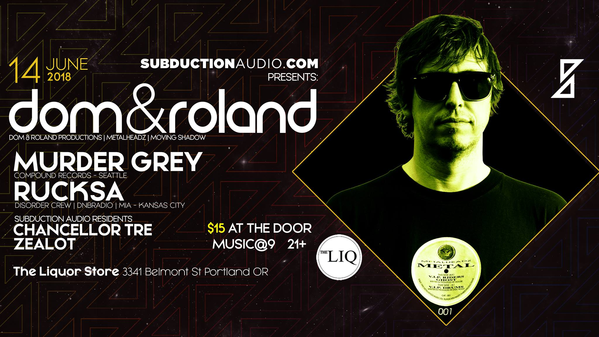 Subduction Audio Presents: Dom and Roland