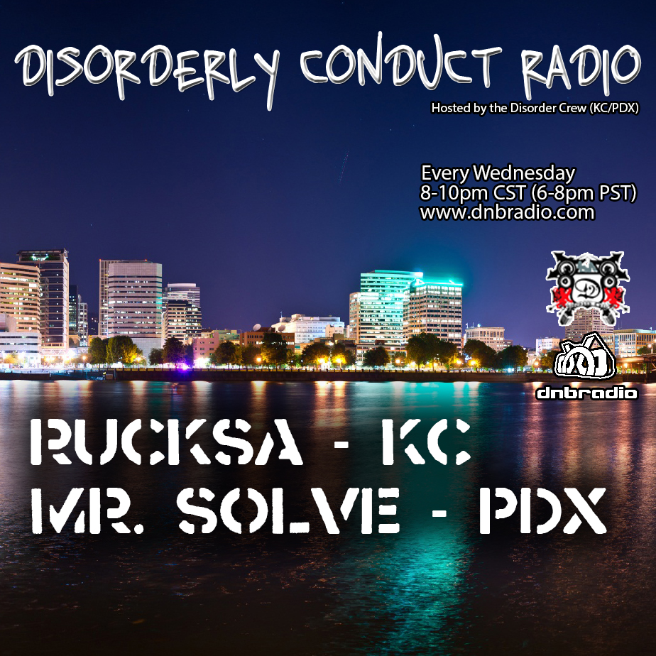 Rucksa Feat Selekta Steel – Disorderly Conduct Radio 083116